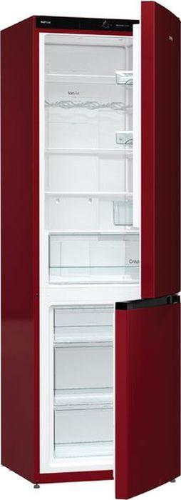 Холодильник Gorenje NRK6192CR4, двухкамерный, бордовый731470Двухкамерный холодильникNRK6192CRD4 — яркий производительный прибор с технологией охлаждения NoFrostPlus. Благодаря циркуляция холодного воздуха MultiFlow 360° в комбинации с ионизацией IonAir внутри холодильнйо камеры поддерживается специальная атмосфера для сохранения свежести продуктов. Контейнер CrispZone с функцией HumidityControl помогает создать оптимальные условия влажности и освещенности для фруктов и овощей.Данная модель относится к Цветной линии Gorenje, подробнее.Ключевые преимущества:Отделение CrispZone для овощей и фруктовИонизация воздуха IonAirСистема вентиляции MultiFlow 360° Крупногабаритный товар.