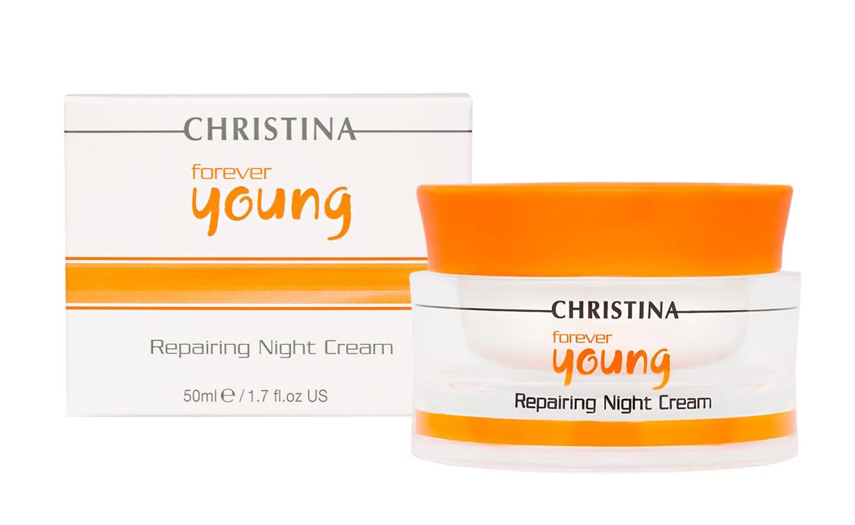 Крем для ухода за кожей CHRISTINA Ночной восстанавливающий Forever Young Repairing Night Cream Christina