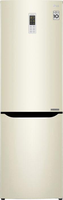 Холодильник LG GA-B419SYGL, бежевый
