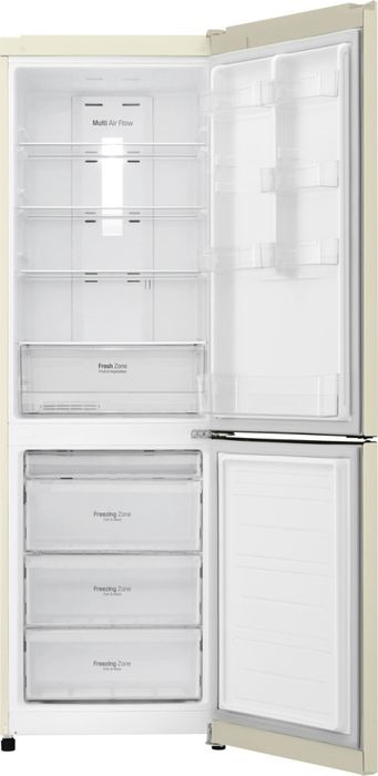 Холодильник LG GA-B419SYGL, бежевый LG