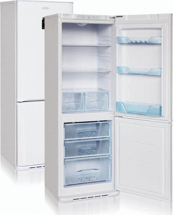 Холодильник Бирюса Б-M133D, двухкамерный, белый холодильник бирюса б w139 двухкамерный белый