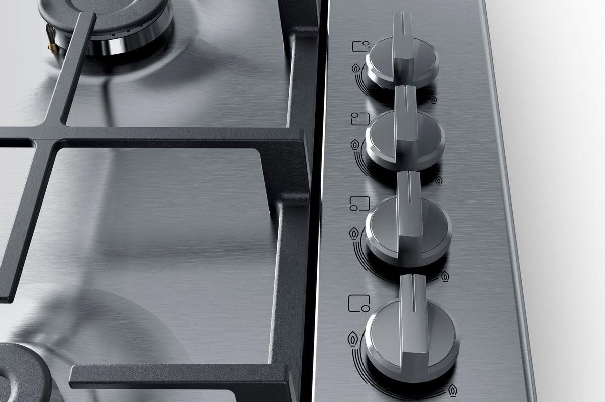 Варочная панель Bosch PBP6C5B90, газовая, серебристый Bosch