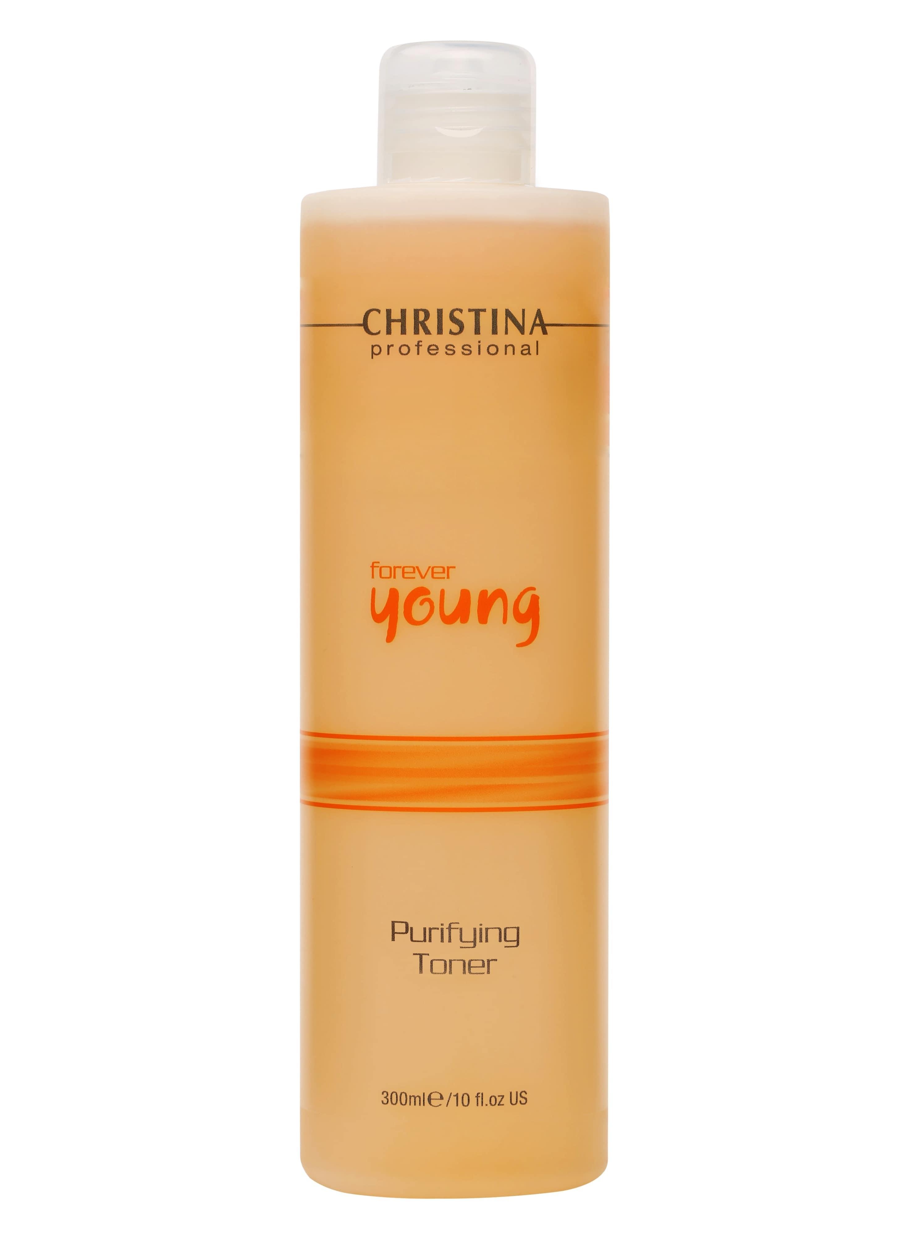 Тоник для лица CHRISTINA Очищающий Forever Young Purifying Toner очищающий тоник для лица балансирующий christina comodex purify