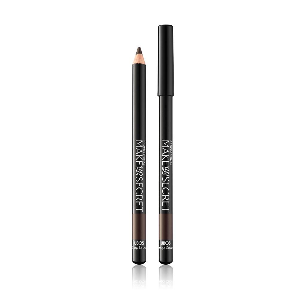 Карандаш для бровей MAKE-UP-SECRET Universal Browliner, 4 карандаш для бровей make up secret fb 4