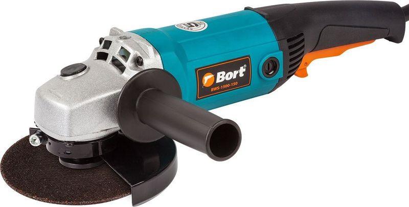 Машина шлифовальная Bort BWS-1500-150, 93727673, угловая цена