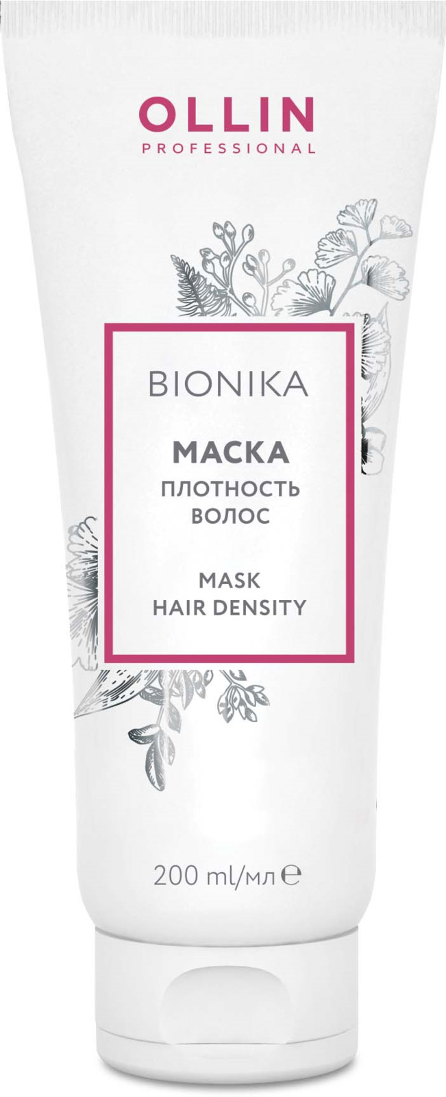 "Ollin Маска ""Плотность волос"" BioNika Mask Hair Density 200 мл"