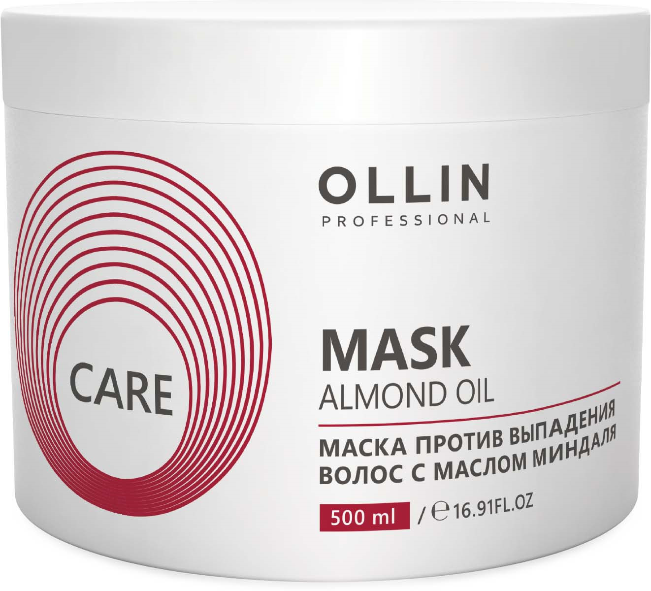 Ollin Маска для волос с маслом миндаля Care Almond Oil Mask 500 мл