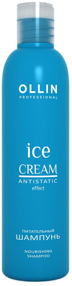 Ollin Питательный шампунь Ice Cream Nourishing Shampoo 250 мл