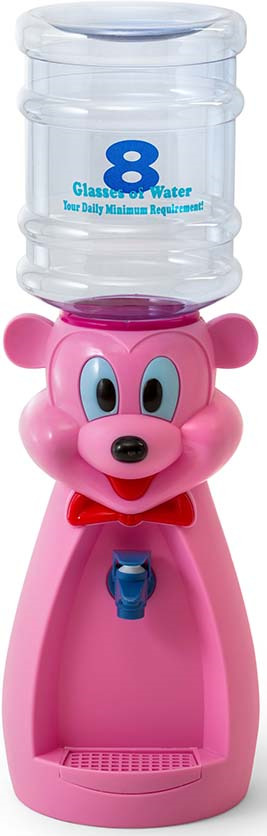 Кулер для воды VATTEN kids Mouse Pink (без стаканчика), розовый Vatten