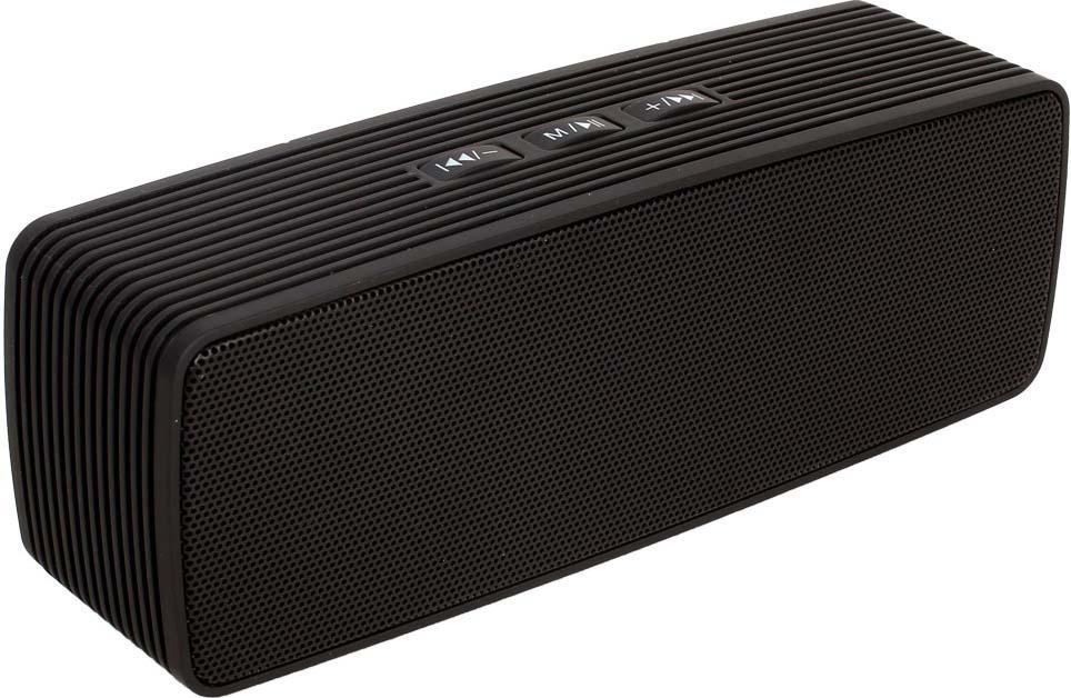 Беспроводная колонка Ginzzu, GM-875B, черный аудио колонка brand kerry kr 8800 bluetooth tf fm usb nfc 5c jambox kr 8800