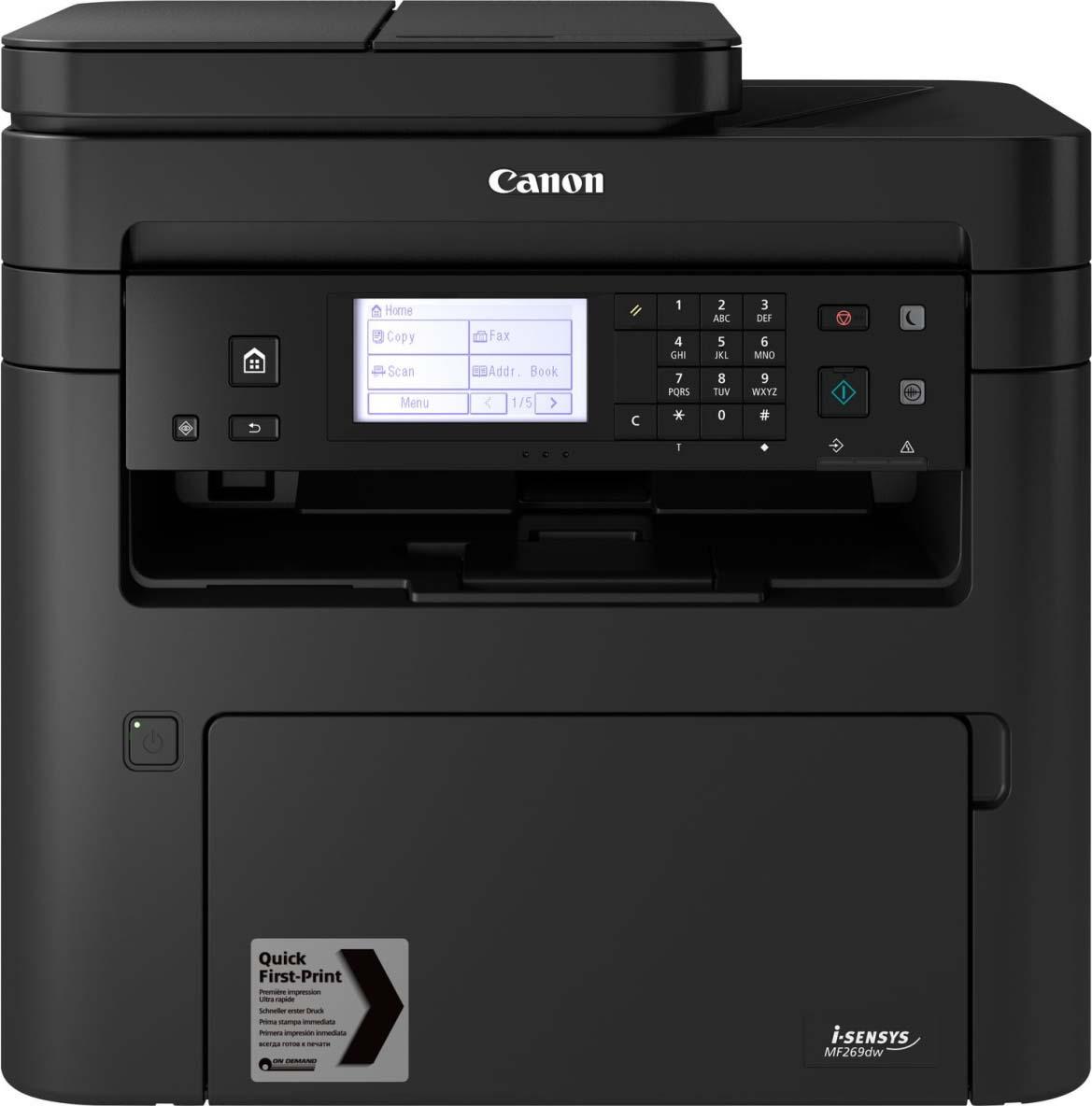 МФУ Canon i-SENSYS MF269dw, 670218, черный