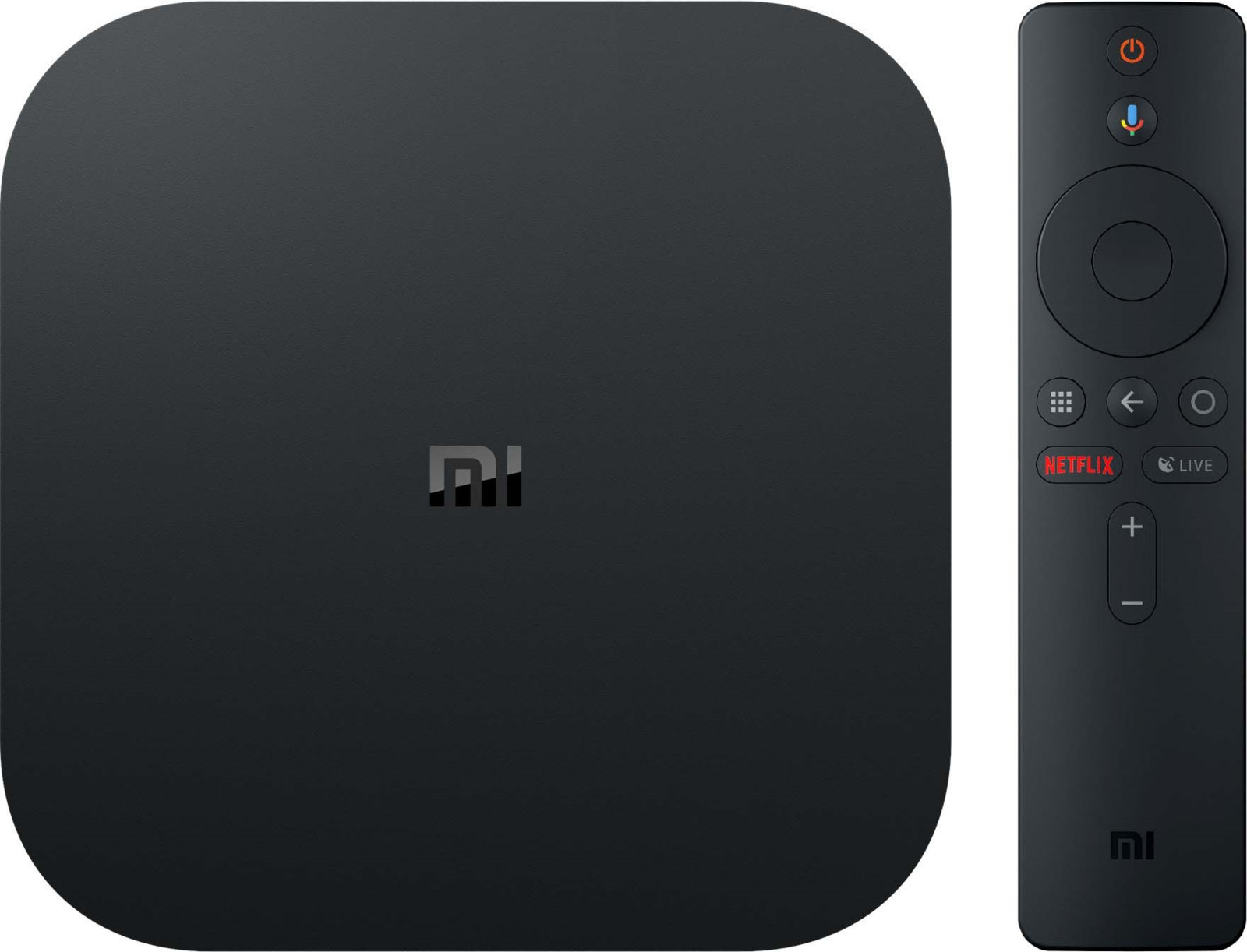 Медиаплеер Xiaomi Mi Box S, черный xiaomi mi tv box 3 enhanced