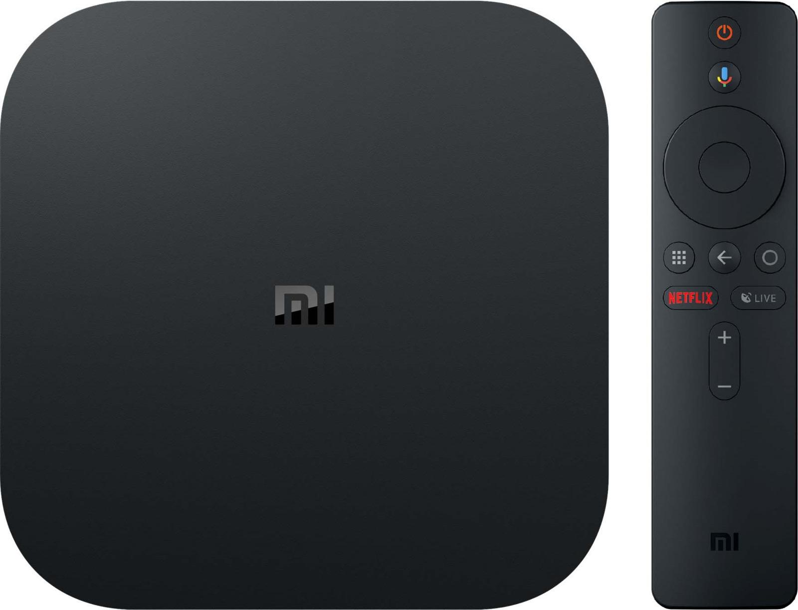 Медиаплеер Xiaomi Mi Box S, черный