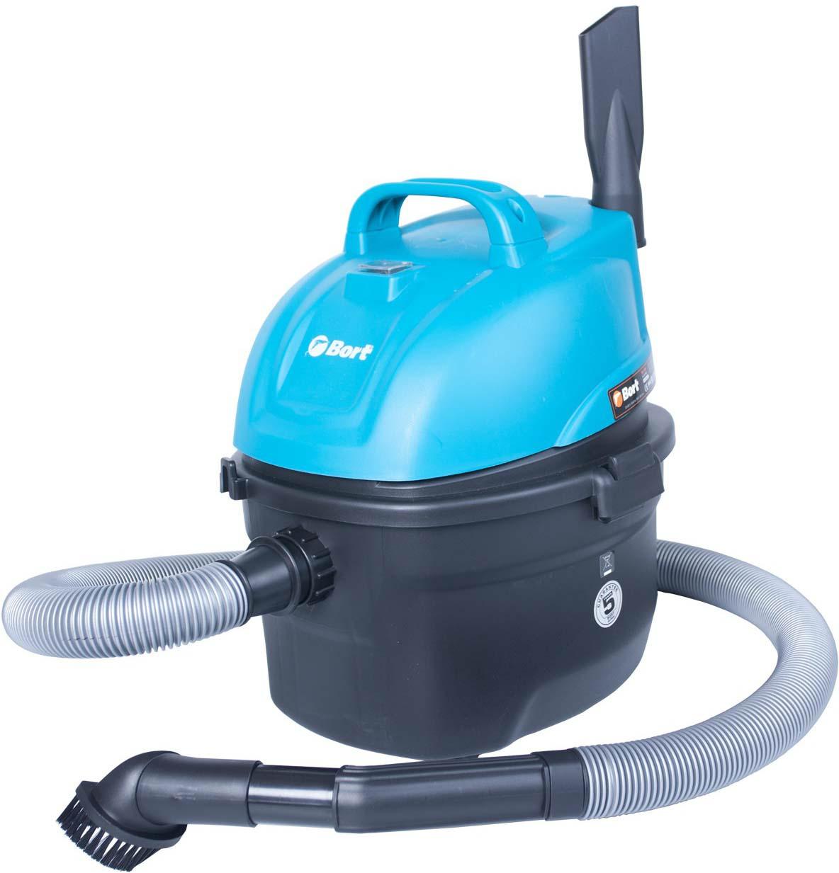 Пылесос для сухой и влажной уборки Bort BSS-1008 пылесос хозяйственный сухой и влажной уборки shop vac super 30 i