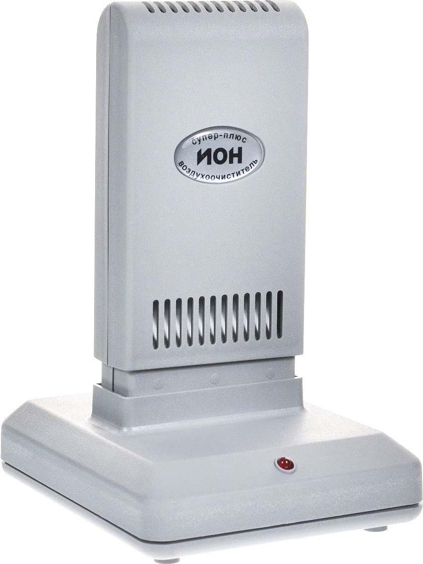 Очиститель-ионизатор воздуха Супер-Плюс Ион, серый