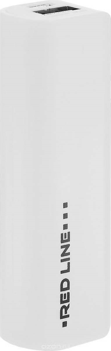 лучшая цена Внешний аккумулятор Red Line R-3000, White