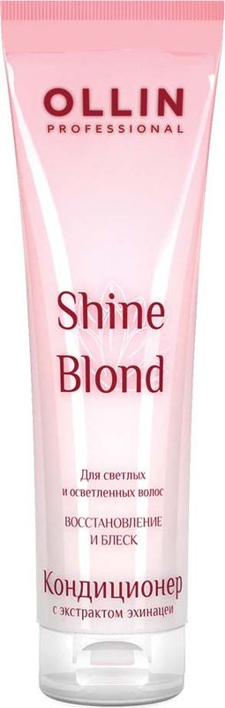 Ollin Кондиционер с экстрактом эхинацеи Shine Blond Echinacea Conditioner 250 мл цены онлайн