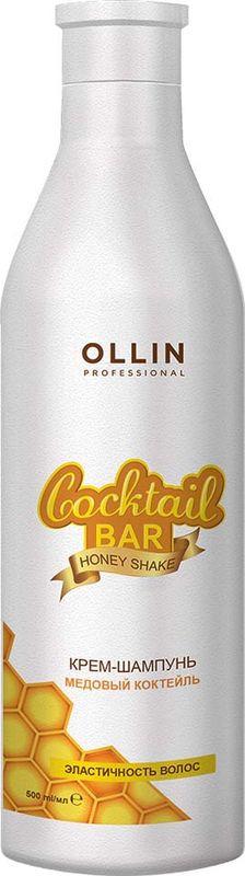 Ollin Professional Крем-шампунь Медовый коктейль эластичность волос Honey Cocktail - 500 мл ollin professional крем шампунь медовый коктейль эластичность волос 500 мл