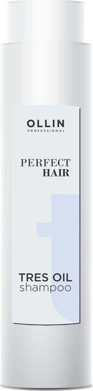 Шампунь Ollin Professional Perfect Hair Tres Oil, 400 мл parachute advansed jasmine hair oil объем 100 мл