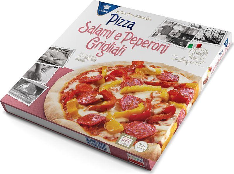 Пицца Laime Салями с болгарским перцем, 350 г калинина а в пицца на любой вкус