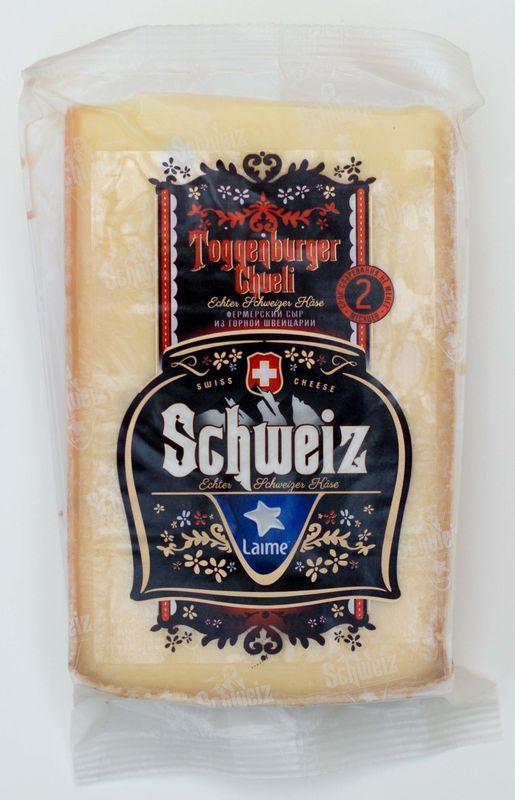 Сыр Laime Toggenburger полутвердый, 45%, 180 г