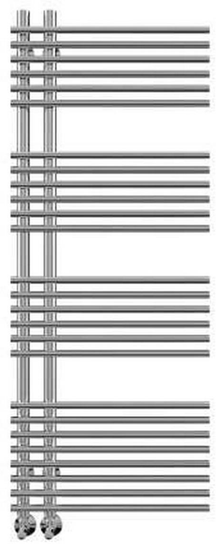 Полотенцесушитель Terminus, АстраП22-701096, серый металликАстраП22-701096Бытовой полотенцесушитель Terminus предназначен для использования в системе горячего водоснабжения для сушки текстильных изделий, а также для обогрева ванных, душевых и других помещений. Изделие выполнено из высоколегированной коррозионностойкой нержавеющей стали марки AISI 304L. Толщина стенки используемой трубы не менее 2 мм, трубы изготавливаются методом лазерной сварки, устойчивы к резким перепадам давления в системе водоснабжения. Гарантия 10 лет Межосевое расстояние, мм: 70 Толщина стенки трубы: 2 мм Количество перекладин: 22 Группировка: 7-5-5-5 Тип подключения: НИЖНЕЕ Рабочее давление: 9 атм. Температура теплоносителя: до +110°С. Теплоотдача: 682Вт Размер полотенцесушителя, мм: 516х100х1096 Диаметр труб: 32/18мм Базовая комплектация: ВЕНТИЛЬ КРУГЛЫЙ 3/4х1/гш - 2шт., ЭКСЦЕНТРИК - 2шт., ОТРАЖАТЕЛЬ - 2шт., ТЕЛЕСКОПИЧЕСКОЕ КРЕПЛЕНИЕ - 4шт Серия товара: ЛЮКС Форма:ЛЕСЕНКА Упаковка: Коробка