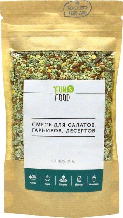 Смесь Fun& Foodдля салатов Спирулина, 100 г Fun& Food