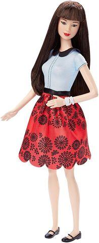 "Кукла Mattel Барби ""Модница"" 19 (Красный рубин)"
