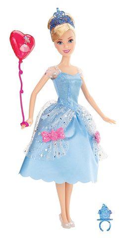Кукла Mattel Дисней Золушка на вечеринке mattel disney princess кукла принцесса золушка с развевающейся юбкой