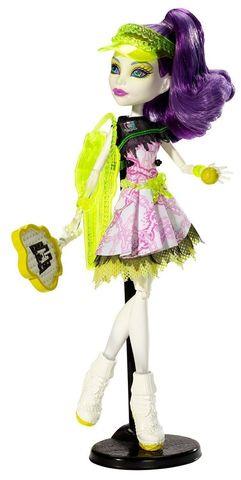 Кукла Mattel Спектра Вондергейст - Спортивные монстры mattel monster high кукла призрачно clawdeen wolf