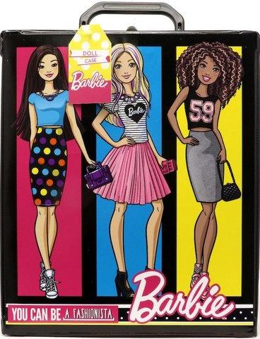 Игровой набор Mattel Barbie Кейс для кукол Барби