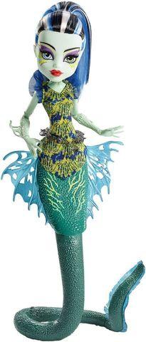 Кукла Mattel Фрэнки Штейн - Большой Скарьерный (Ужасный) Риф mattel monster high dvh72 школа монстров электро фрэнки из серии под напряжением