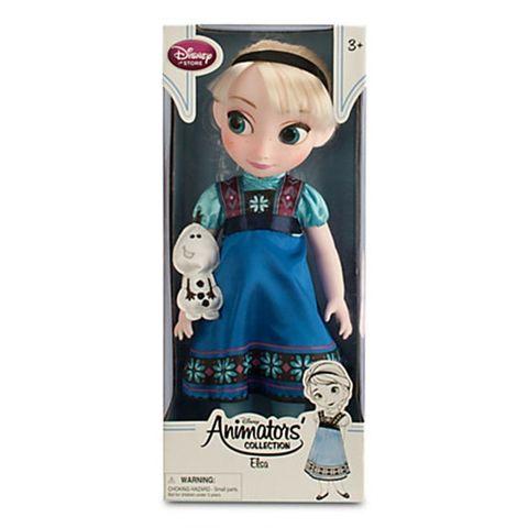 Кукла Disney Эльза Холодное сердце, Дисней, Аниматорз disney мини кукла холодное сердце эльза в голубом платье 7 5 см