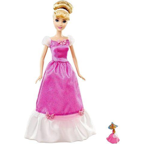 Кукла Mattel Золушка, с мышкой Сьюзи, Принцессы Диснея mattel disney princess кукла принцесса золушка с развевающейся юбкой