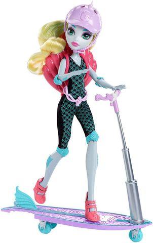 цена Игровой набор Mattel Лагуна Блю на скутере онлайн в 2017 году
