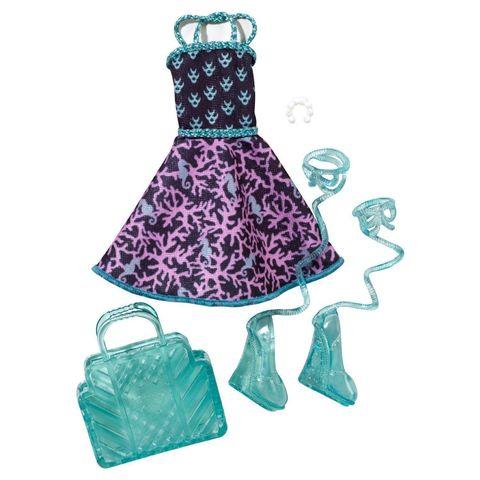 Одежда для кукол Mattel Набор одежды и аксессуаров для Лагуна Блю цена