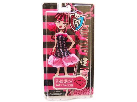 все цены на Одежда для кукол Mattel Одежда и туфли для Дракулаура Монстр Хай онлайн