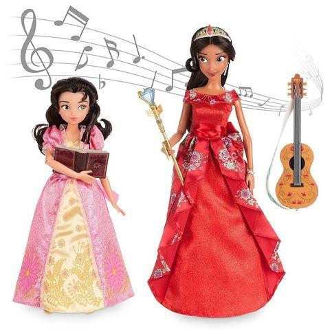 Игровой набор с куклой Disney Поющая Елена из Авалора, Deluxe в наборе с Изабель