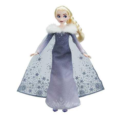 Кукла Hasbro Эльза Поющая, Холодное сердце кукла эльза и пабби тролли холодное сердце disney