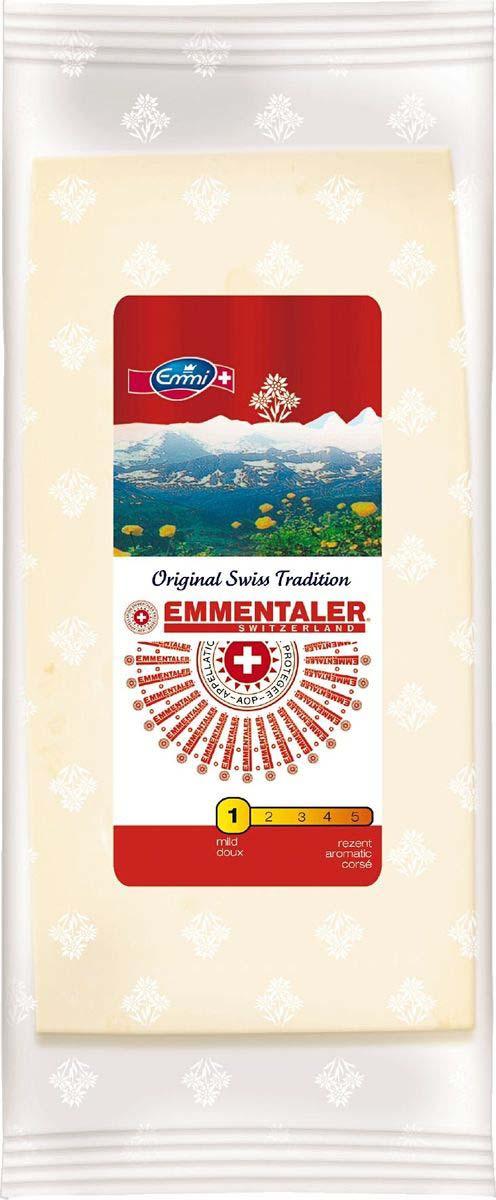 Сыр Emmi Эмменталь твердый, 45%, 200 г сыр emmi фондю эмми 40% 400 г