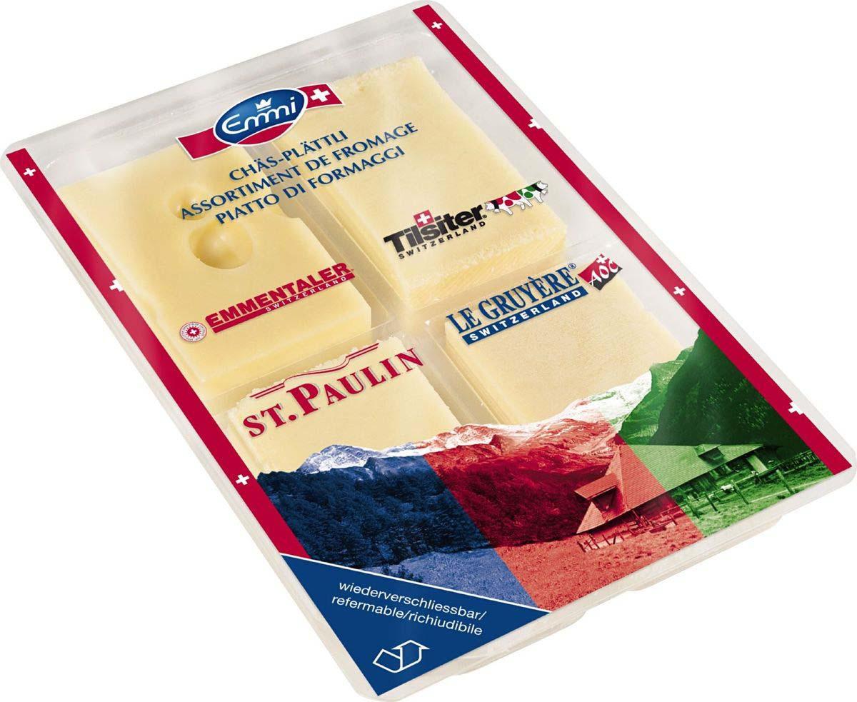 Сыр Emmi Коллекция из 4 сыров, 250 г