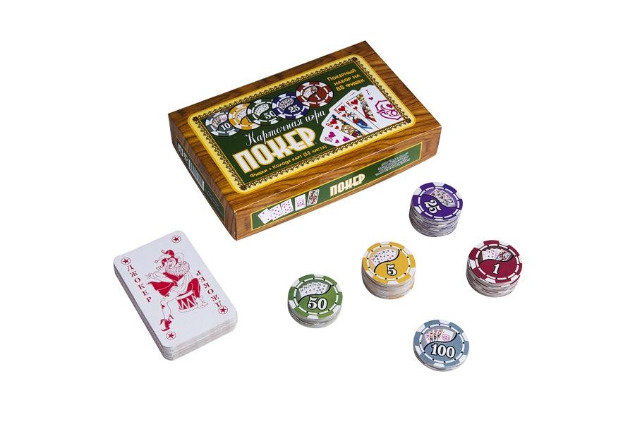 Набор для покера Partida Походный на 88 фишек Partida