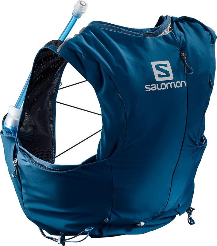 Рюкзак Salomon Advanced Skin 8 Set W, LC1048600, синий, размер S