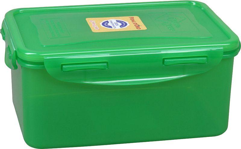 Контейнер пищевой Pomi dOro RUS-575018-G, зеленый, 1,5 л