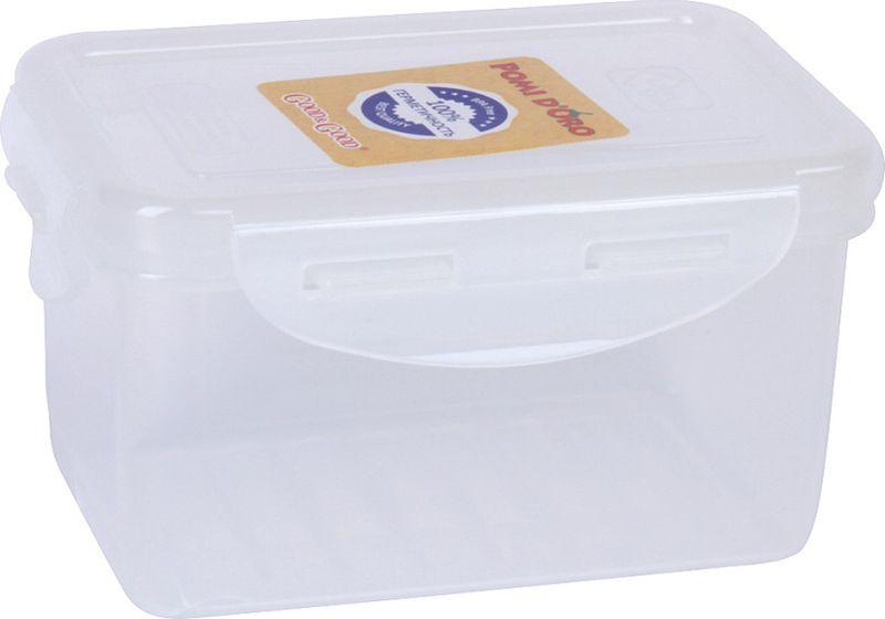 Контейнер пищевой Pomi d'Oro RUS-575020, прозрачный, 470 мл шумовка pomi d oro pnl 500004