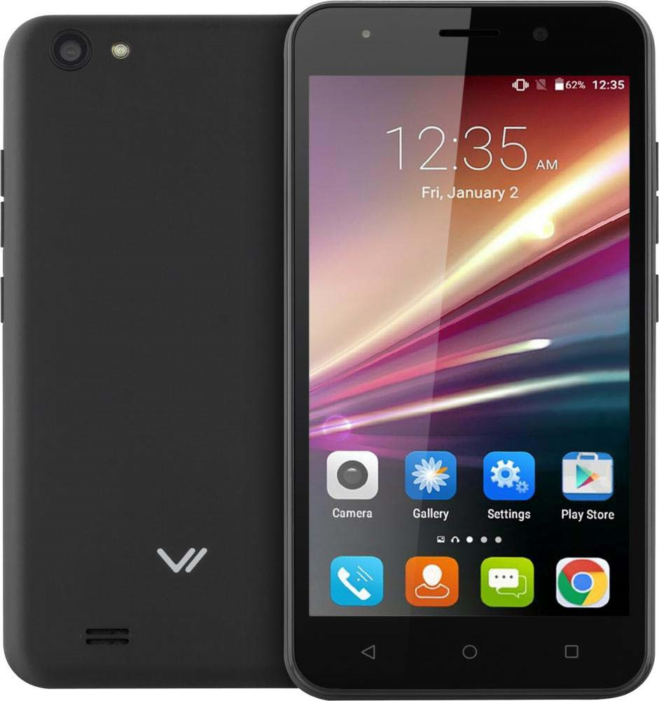 Смартфон Vertex Impress Luck NFC 4G 8 GB, черный цена и фото
