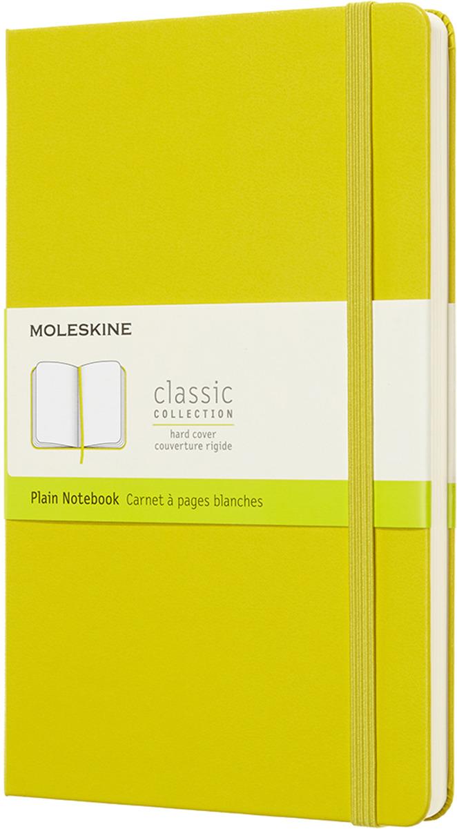 Блокнот Moleskine CLASSIC, 240 листов, нелинованный, цвет: желтый, 130х210 мм цена
