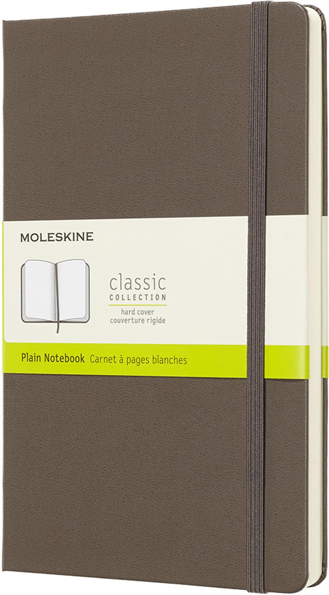 Блокнот Moleskine CLASSIC SOFT, 192 листа, нелинованный, цвет: коричневый, 130х210 мм еженедельник moleskine classic wkly large 130х210мм 144стр красный