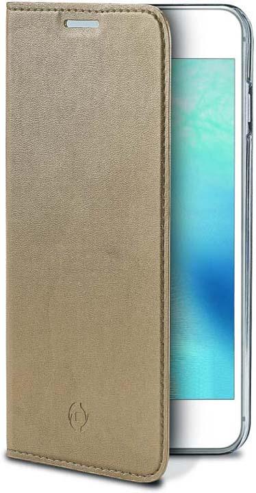 Чехол для сотового телефона Celly Air Case для Samsung Galaxy J3 (2017), AIR663GDCP, золотой аксессуар чехол samsung galaxy a8 celly air case black air705bkcp