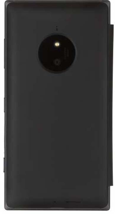 Чехол для сотового телефона Nokia для Nokia Lumia 830 с функцией беспроводного ЗУ, CP-627 черн., черный чехол nokia чехол nokia 8 leather flip cover black cp 801